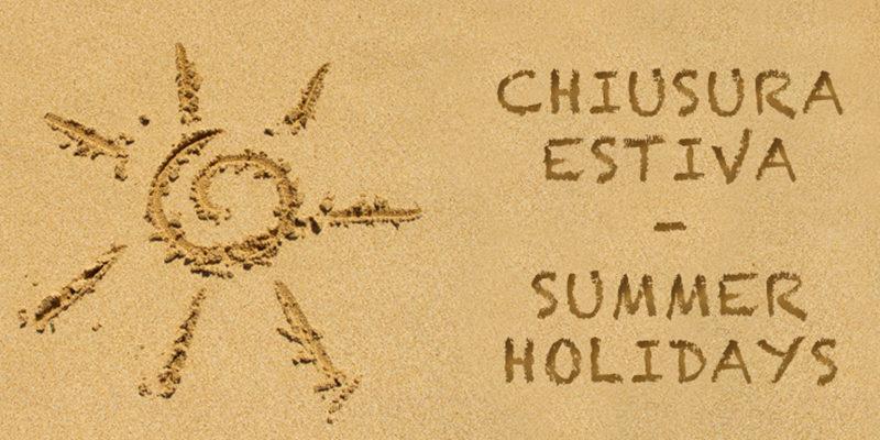 Risultati immagini per chiusura estiva